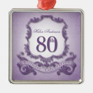 ornamento personalizado celebração do aniversário