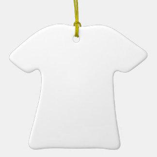 Ornamento Personalizado com Formato de Camiseta