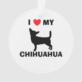 Ornamento personalizado da chihuahua