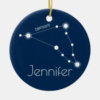 Ornamento personalizado da constelação do