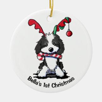 Ornamento personalizado de Cockapoo do cão de