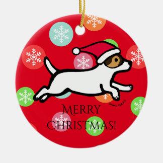 Ornamento personalizado de Jack Russell Terrier 2