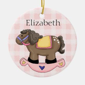 Ornamento personalizado do bebé