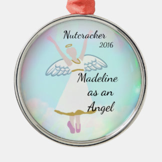 Ornamento personalizado do Nutcracker - anjo