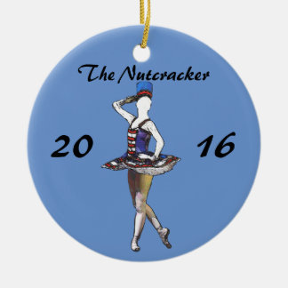 Ornamento personalizado do Nutcracker - boneca