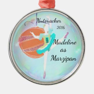 Ornamento personalizado do Nutcracker - maçapão