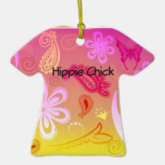 Ornamento personalizado pintinho do t-shirt de Pai