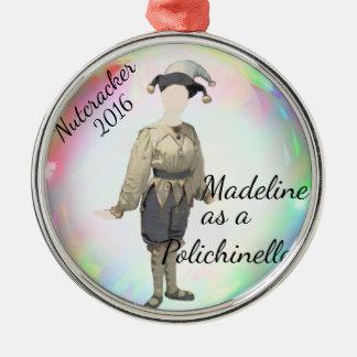 Ornamento personalizado Polichinelle do Nutcracker