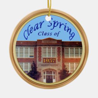 Ornamento personalizados da reunião de classe da