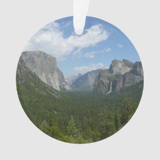 Ornamento Ponto da inspiração no parque nacional de Yosemite