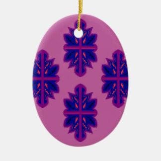 Ornamento populares roxos