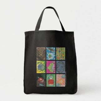 Ornamento por artistas múltiplos bolsa tote