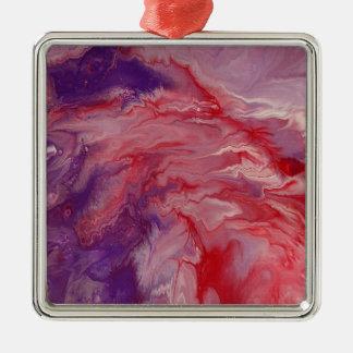 Ornamento quadrado superior da arte abstracta