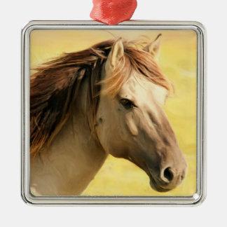 Ornamento quadrado superior do cavalo