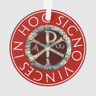 Ornamento Qui-Ró - o monograma do cristo