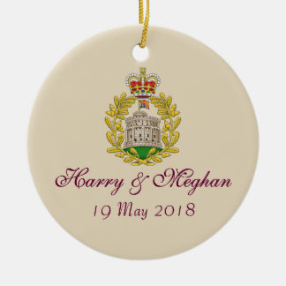 Ornamento real de Harry e de casamento 19.05.2018