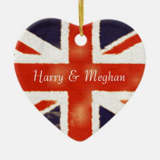 Ornamento real de Harry e de casamento de Meghan