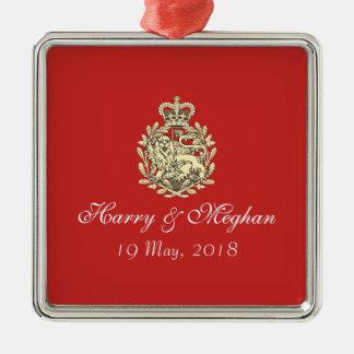 Ornamento real do prêmio de Harry e de casamento