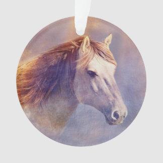 Ornamento Retrato do cavalo