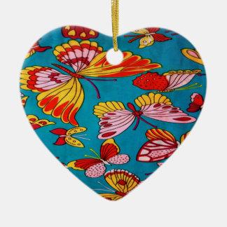 ornamento retro da borboleta dos anos 60