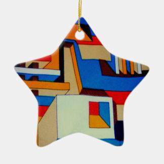 ornamento retro da estrela dos anos 60