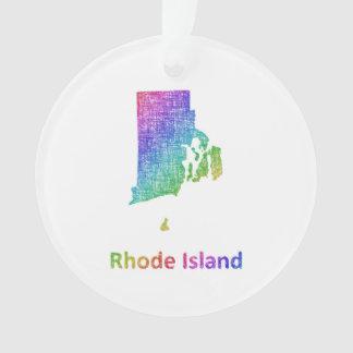 Ornamento Rhode - ilha