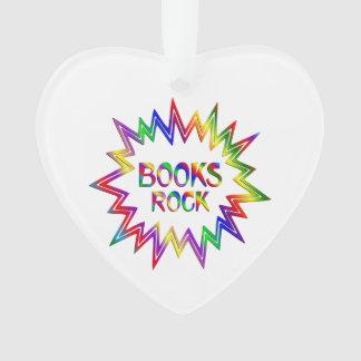 Ornamento Rocha dos livros