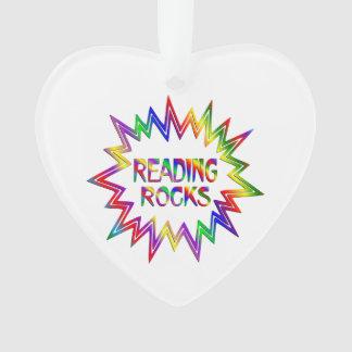 Ornamento Rochas da leitura