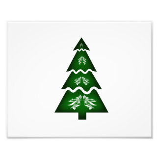 Ornamento secional 2.png da chamada da árvore de N Impressão Fotográfica