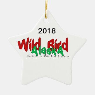 Ornamento selvagem da estrela de Alaska 2018 do