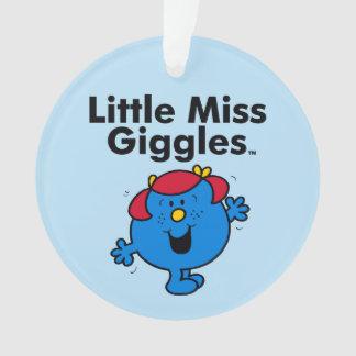 Ornamento Senhorita pequena pequena Riso Gosto Riso da