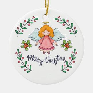 Ornamento simples contudo bonito do anjo | do