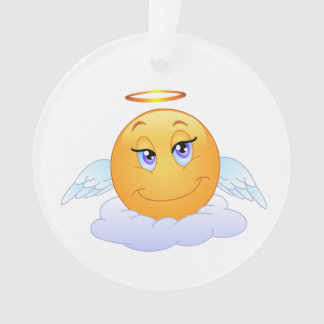 Ornamento Smiley do anjo