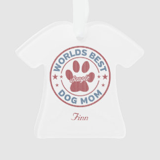 Ornamento Sua camisola feia do lebreiro conhecido da mamã do