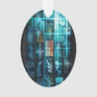 Ornamento Tecnologia da informação ou ELE Infotech como uma