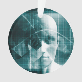 Ornamento Tecnologia futurista da ciência médica como uma