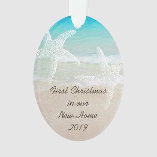 Ornamento Tema litoral Home novo do Natal tropical