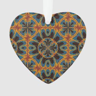 Ornamento Teste padrão da tapeçaria