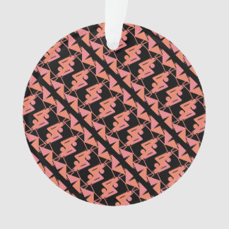 Ornamento Teste padrão geométrico & abstrato espelhado