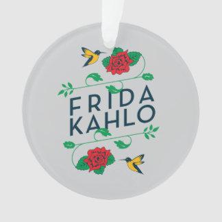 Ornamento Tipografia floral de Frida Kahlo |