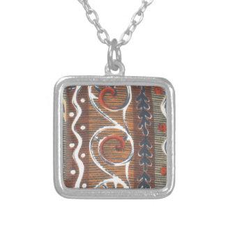 Ornamento tradicional das cores do vintage african pingentes