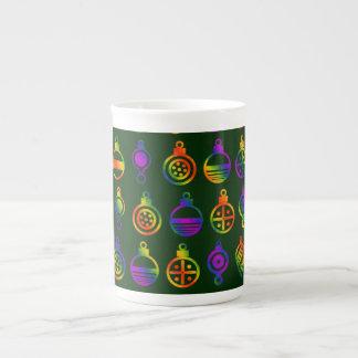 Ornamento Trippy Xícara De Chá