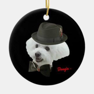 Ornamento Um--UM-Amável do feriado de Boagie