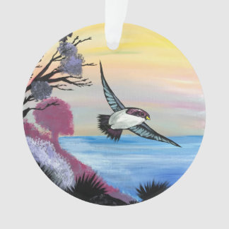 Ornamento Uma opinião dos pássaros