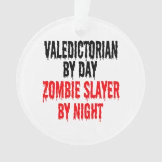 Ornamento Valedictorian do assassino do zombi