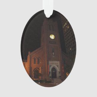 Ornamento velho da catedral #2 de Mary de santo