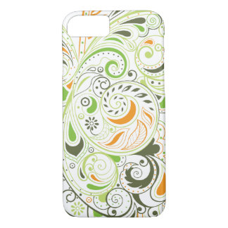 Ornamento verde capa iPhone 7