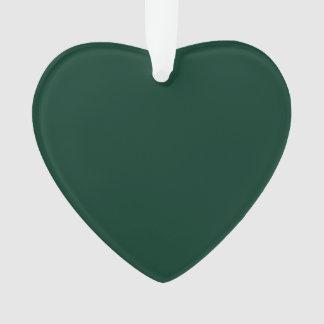 Ornamento Verde escuro