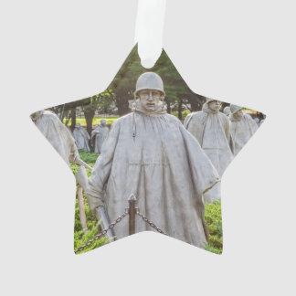 Ornamento Veteranos de Guerra da Coreia memoráveis