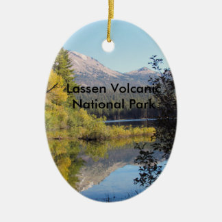 Ornamento vulcânico do parque nacional de Lassen